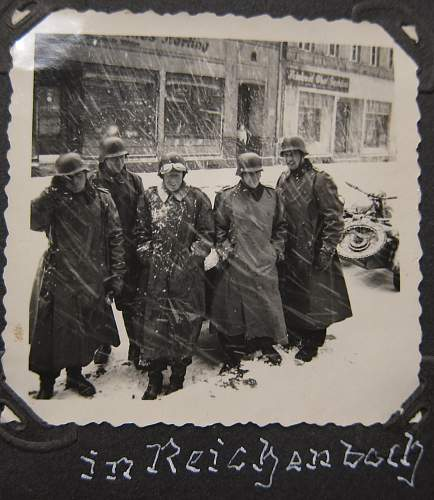 Photo album of a Panzer trooper from Regiment 31 of the 5th Panzer Division