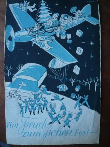 Happy Christmas from the Luftwaffe