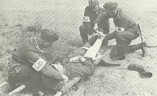 Stretcher Bearer Picture