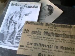 Early 1920s Kampfzeit Paper Items
