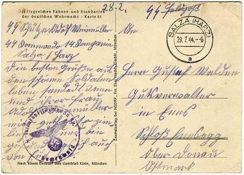 SS Postcard help