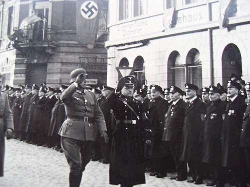 Any idea who this high ranking nazi is?