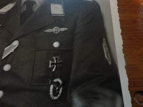 Interesting Photo Post Card of LUFT Pilot