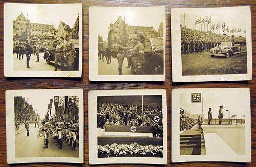 I need help identifying these unusual photo cards...