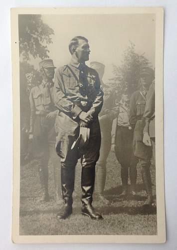 Click image for larger version.  Name:Hitler Hoffmann postcard.jpg Views:55 Size:153.8 KB ID:893618