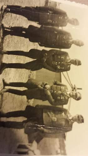 Luftwaffe officers - Kesselring, Hitler??