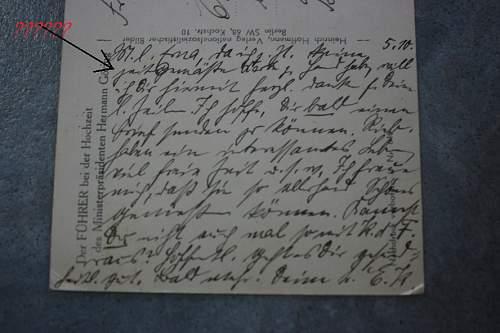translation on postkart