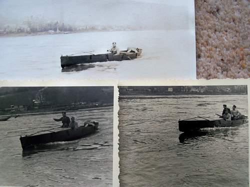strange German river boats - any ideas?