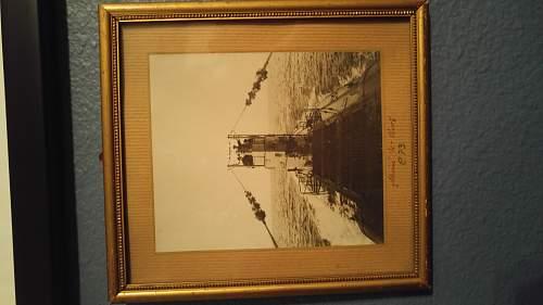 """""""My U-boat"""" WW1 Photo"""