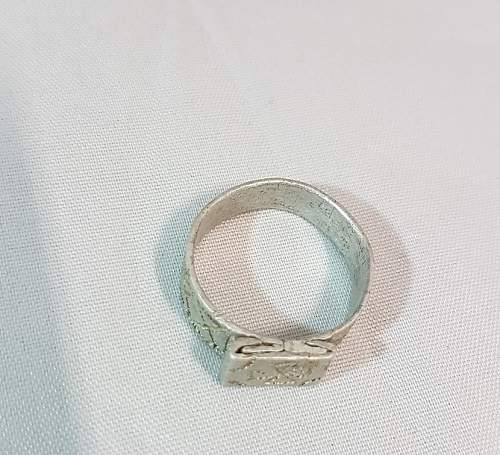 German ring is it trench art?