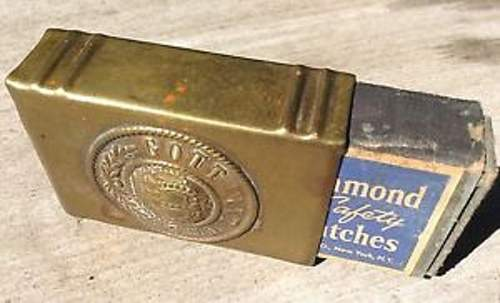 German trench art tobacco box ?! WWII ?