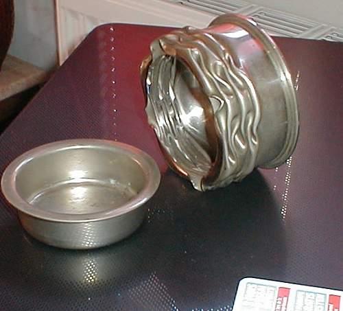 Need Help on Patronenfabrik Karlsruhe Trench Art ashtray