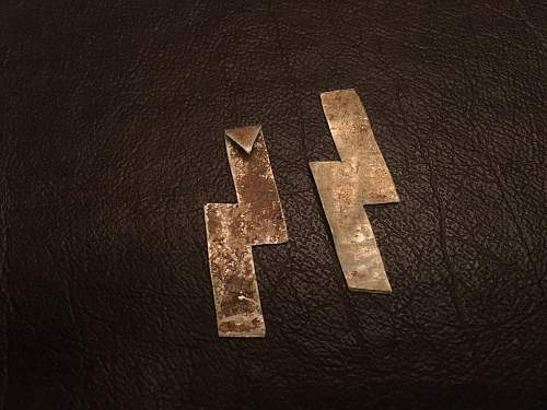 SS trench art relics from Latvia