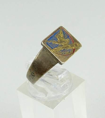 Luftwaffe ring.
