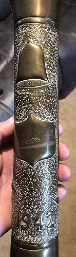 Trench art question?