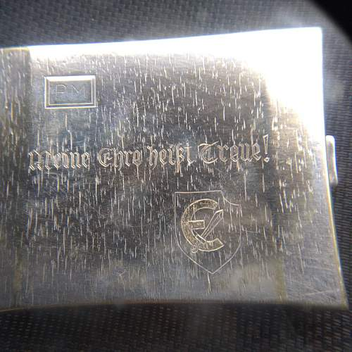 Cigarette case.....Estonian SS??
