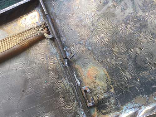 Fallschirmjäger cigarette case