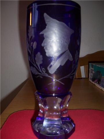 Hitler presentation vase