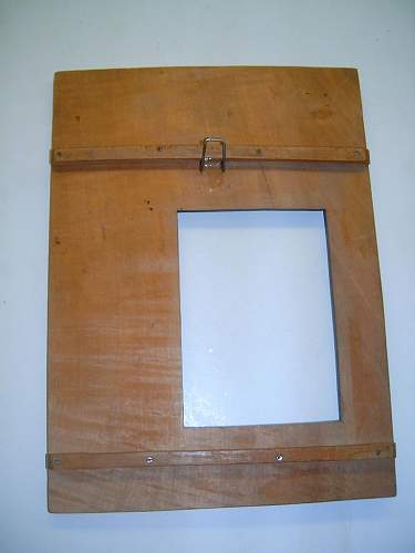 SS Nordland  picture frame (birthday present from a Norvegian soldier  to Finnish soldier who served  in the same batalion)