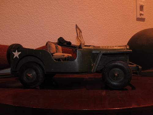 German POW JEEP carving