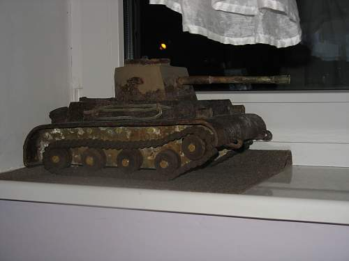 Few items from german trench-East Prussia
