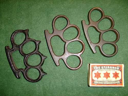 Brass knuckles !