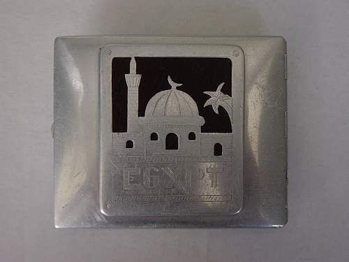 Click image for larger version.  Name:ATS Cigarette case made by a POW in 306 POW camp Egypt. 002.jpg Views:729 Size:206.7 KB ID:28358