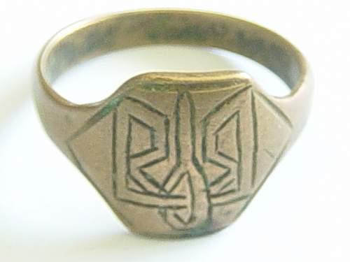 Trident of Vladimir ring