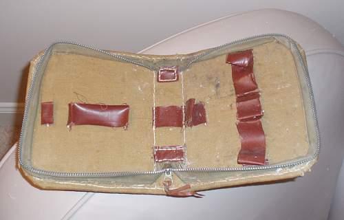 German POW-made Shaving Kit