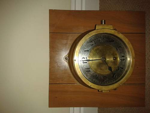 i have an old clock left to me from the war, anyone know about it?