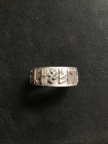 German Rune ring.