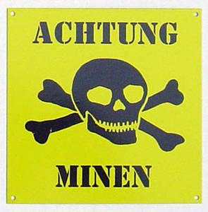 achtung minen