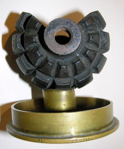 German Trench Art Grenade Ashtray