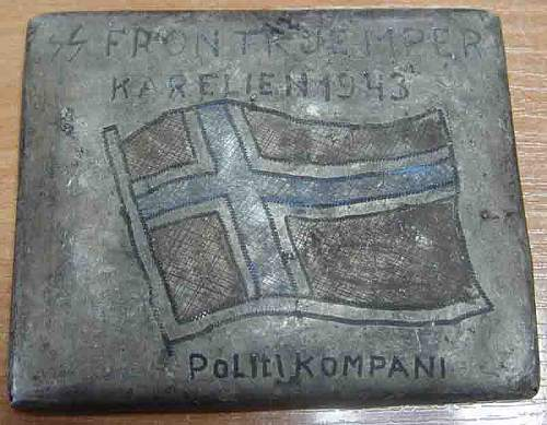 Eismeerfront Museum of trench-art