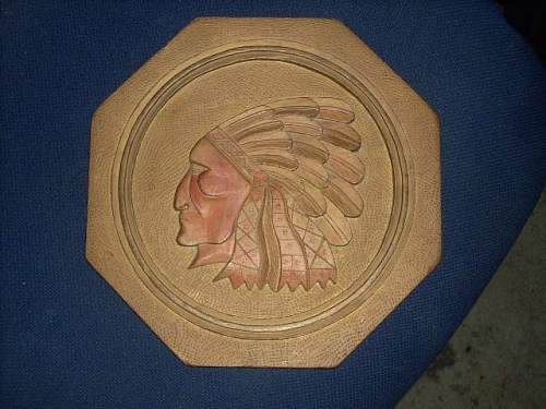 Help I.D. Wood Carving by GERMAN POW...