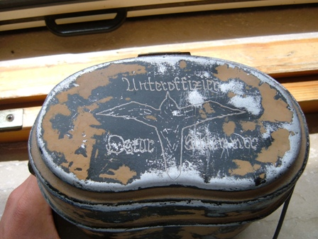 Engraved German mess tin ( fantastic)