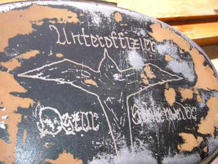 Engraved German mess tin ( fantastic)