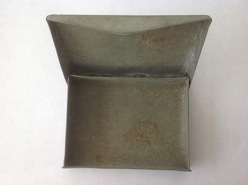 Trench Art Cigarette Case 1944