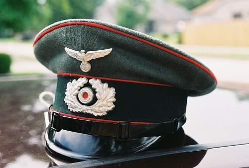 Heer artillery cap