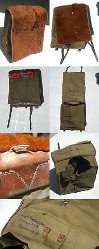 Looking for Bag ALFE and Visor Cap
