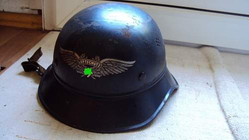 Anybody willing to sell an a german authentic luftschutz helmet?