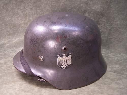 German Heer or camo helmet