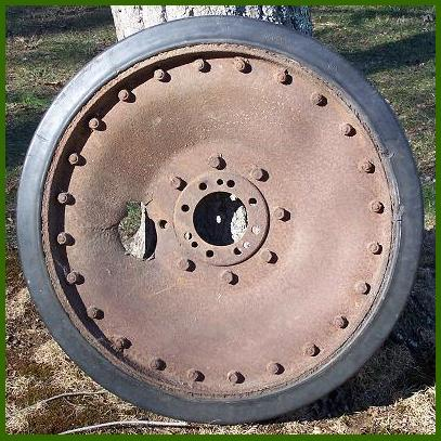 Road Wheel from Panther - need wartime picture