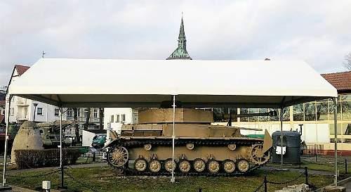 PzKpfw IV Ausf J  found in Poland