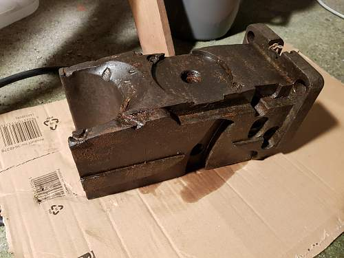 Cannon breech block, what cannon was it on?