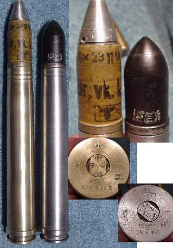 What info do you have on these Flak 18 shells?