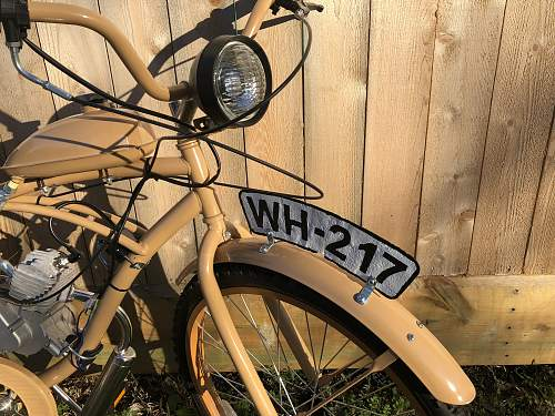 German WW2 style moped