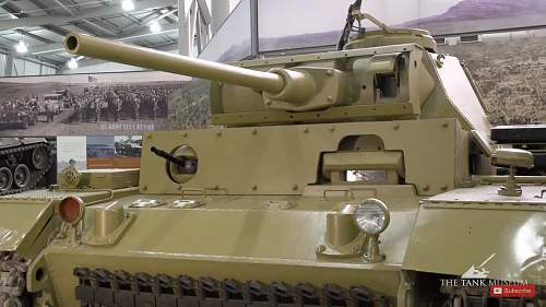 PZ III armoured glass view point