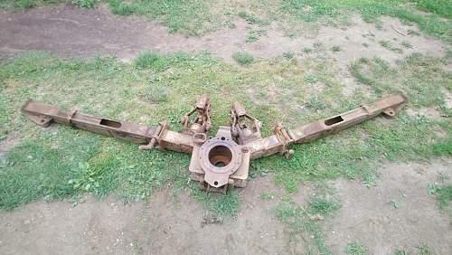 Frame from 2.8 cm sPzB 41 or something similar ? Help needed