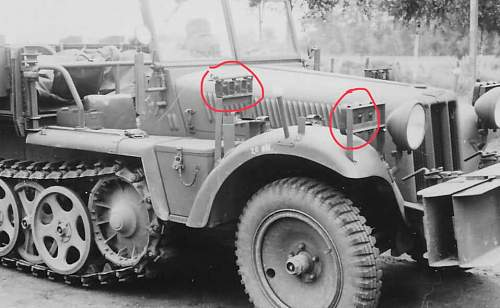 ww2 german vehicle type please hlp me with  this part type its from canno??truck??or armoute car???